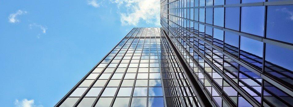 facciate vetrate, continue, altezza, sicurezza