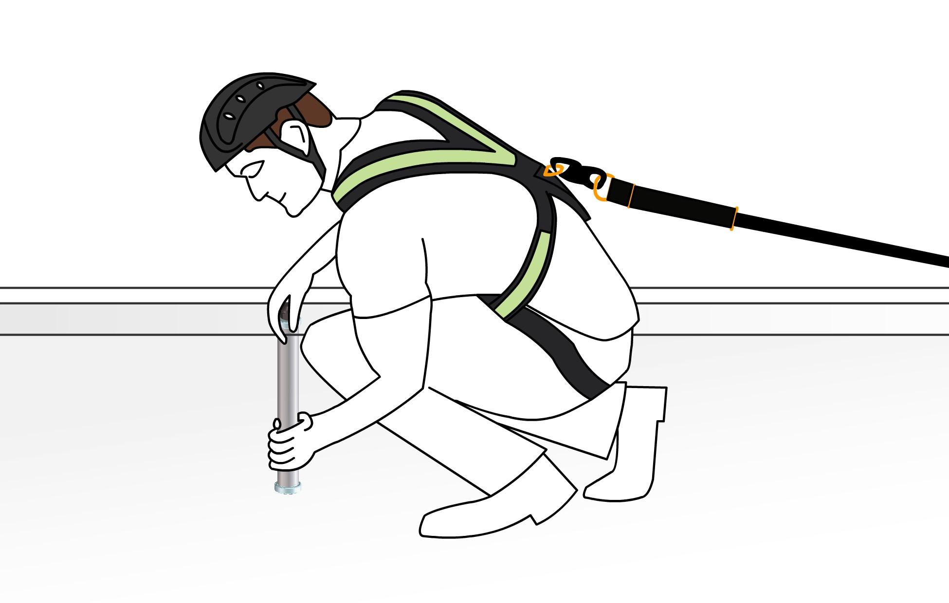 DPI, dispositivi di protezione individuali, anti caduta