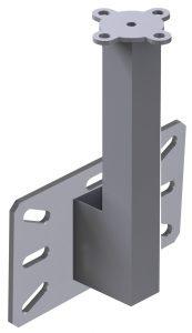 torretta a base verticale, torrette a palo indeformabili, acciaio inox, acciaio zincato
