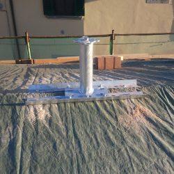 torrette a palo indeformabili, base per sottotetti, ancoraggi strutturali a torrette indeformabili