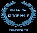 normativa UNI EN 795 - CEN/TS 16415