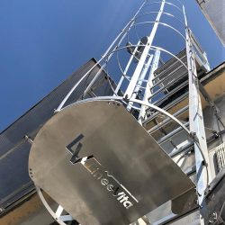 scale di sicurezza, scala a gabbia